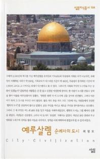 예루살렘 (순례자의 도시)(살림지식총서 104)