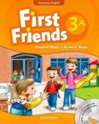 American First Friends 3a Student Book/workbook/cd Pack