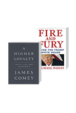 Fire and Fury + A Higher Loyalty 세트