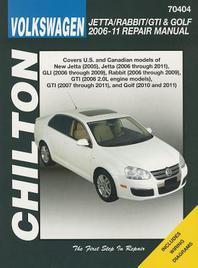 Volkswagen Jetta/Rabbit/GTI & Golf 2006-11 Does Not Include 2005 Jetta (Based on the A4 Platform) or 2006 1.8l GTI Models, 2011 2.0l 8-Valve Sedan Mod