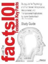 Studyguide for Psychology and the Internet