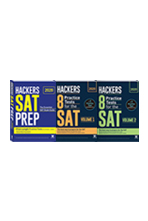 HACKERS SAT PREP+8 Practice Tests for the SAT Volume. 1+2(2020)