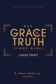 [해외]Niv, the Grace and Truth Study Bible, Large Print, Hardcover, Red Letter, Comfort Print (Hardcover)