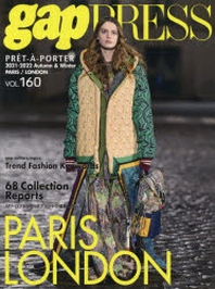 GAP PRESS VOL.160 PARIS,LONDON COLLECTIONS 21-22 A&WI
