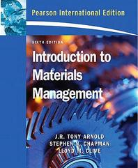 Intro. to Materials Management, 6/E