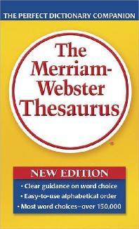 [해외]The Merriam-Webster Thesaurus