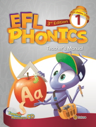EFL Phonics. 1(TM)(3판)(CD1장포함)