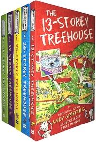 Treehouse 6-Book Set 나무집 시리즈 6종 세트 (영국판)