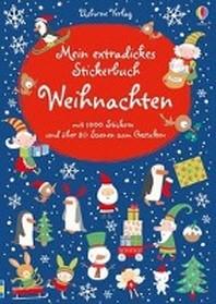 Mein extradickes Stickerbuch: Weihnachten