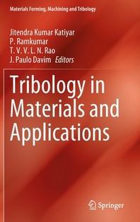 [해외]Tribology in Materials and Applications