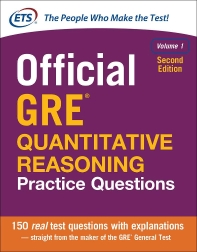 Official GRE Quantitative Reasoning Practice Questions [2E]