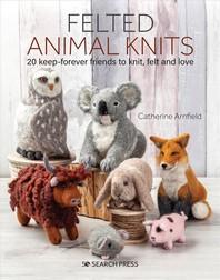 [해외]Felted Animal Knits