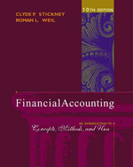Financial Accounting : An Introduction to Concepts, Methods, and Uses