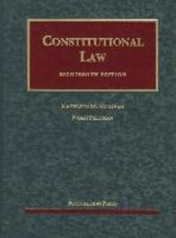Constitutional Law, 18th
