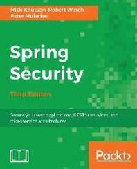 [해외]Spring Security - Third Edition (Paperback)