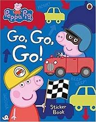 Peppa Pig Go, Go, Go! Vehicles Sticker Book
