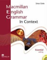 MACMILLAN ENGLISH GRAMMAR IN CONTEXT (WITH KEY)(ESSENTIAL)