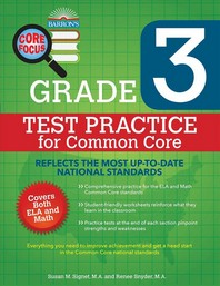 Test Practice for Common Core Grade. 3