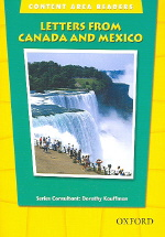 Letters From Canada and Mexico(Content Area Readers)(Beginning Level