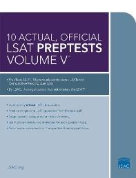 [해외]10 Actual, Official LSAT Preptests Volume V