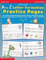 [해외]A to Z Letter Formation Practice Pages