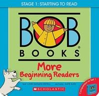 [해외]Bob Books - More Beginning Readers Box Set Phonics, Ages 4 and Up, Kindergarten (Stage 1