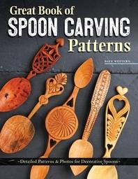 [해외]Great Book of Spoon Carving Patterns