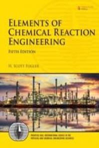 [해외]Elements of Chemical Reaction Engineering
