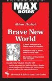 [해외]Brave New World (Maxnotes Literature Guides)