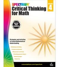 Spectrum Critical Thinking for Math Grade. 4