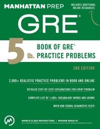 [해외]5 lb. Book of GRE Practice Problems