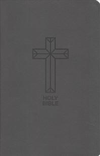 [해외]NKJV, Value Thinline Bible, Compact, Imitation Leather, Black, Red Letter Edition (Imitation Leather)