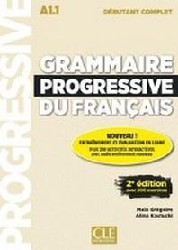 [해외]Grammaire progressive du francais - Niveau debutant complet. 2eme edition. Livre + CD + Web-App