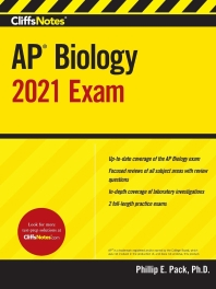 [해외]Cliffsnotes AP Biology 2021 Exam