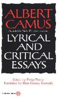 [해외]Lyrical and Critical Essays
