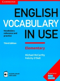 [해외]English Vocabulary in Use Elementary Book with Answers and Enhanced eBook (Hardcover)