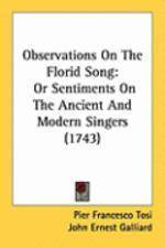[해외]Observations on the Florid Song