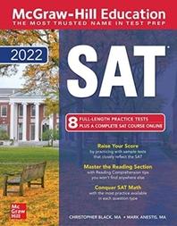 [해외]McGraw-Hill Education SAT 2022