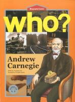 ANDREW CARNEGIE(앤드류 카네기)(영문판)(WHO)(CD2장포함)(BIOGRAPHY COMIC 24)