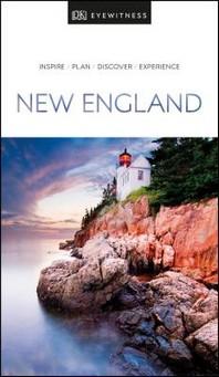 [해외]DK Eyewitness New England (Paperback)
