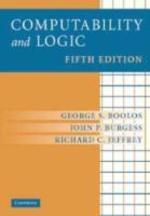 [해외]Computability and Logic (Hardcover)