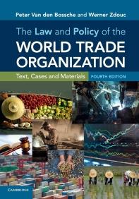 [해외]The Law and Policy of the World Trade Organization