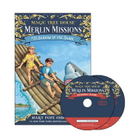 Merlin Mission #25: Shadow of the Shark(PB+CD)