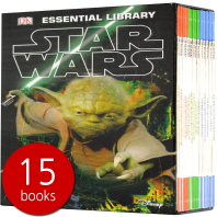 DK Essential Library 스타워즈 15권 박스 세트