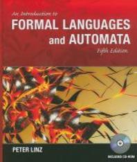 [해외]An Introduction to Formal Languages and Automata [With CDROM] (Hardcover)