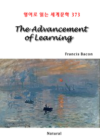 The Advancement of Learning (영어로 읽는 세계문학 373)