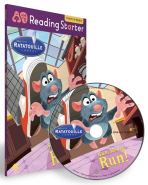 라따뚜이(RATATOUILLE): RUN REMY RUN(CD1장포함)(엄마표 Reading Starter 4)
