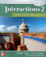 INTERACTIONS. 2: LISTENING SPEAKING(SILVER EDITION)