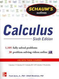 [해외]Schaum's Outline of Calculus, 6th Edition
