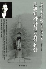 김환태가 남긴 문학 유산